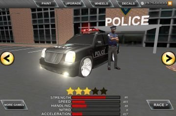взломаная Crime City Real Police Driver